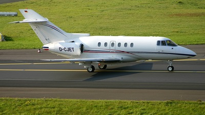 D-CJET - Raytheon Hawker 800XP - Private