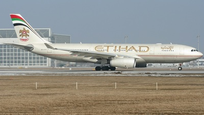 A6-EYE - Airbus A330-243 - Etihad Airways