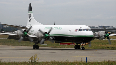 G-LOFE - Lockheed L-188C(F) Electra - Atlantic Airlines
