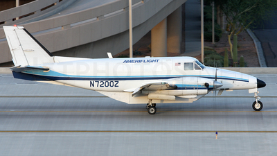 A picture of N7200Z - Beech C99 Airliner - Ameriflight - © Peter Menner