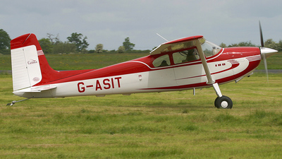 G-ASIT - Cessna 180 Skywagon - Private