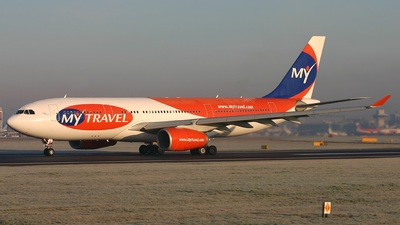 G-MLJL - Airbus A330-243 - MyTravel Airways