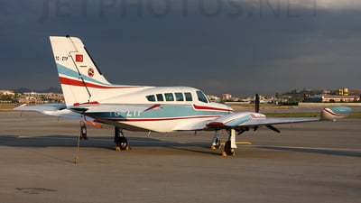 TC-ZTP - Cessna 402B - Turkey - Turkish Aeronautical Association