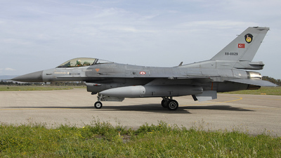 88-0029 - Lockheed Martin F-16C Fighting Falcon - Turkey - Air Force