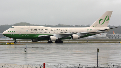 HZ-AWA2 - Boeing 747-4H6 - Alwafeer Air