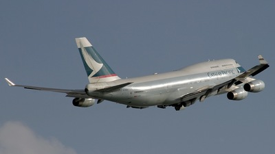 B-HOO - Boeing 747-467 - Cathay Pacific Airways