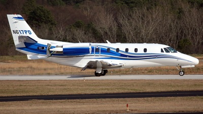 A picture of N617PD - Cessna 560XL Citation Excel - [5605273] - © PeachAir