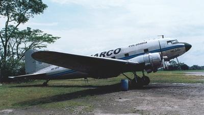 HK-1212 - Douglas C-49J Skytrain - Viarco Colombia