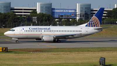 N76354 - Boeing 737-3T0 - Continental Airlines