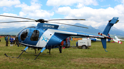 OM-MDM - McDonnell Douglas MD-530FF - Tech-Mont Helicopter Company