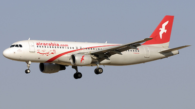 A6-ABI - Airbus A320-214 - Air Arabia