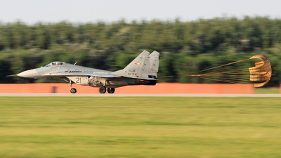 21 - Mikoyan-Gurevich MiG-29B Fulcrum - Hungary - Air Force