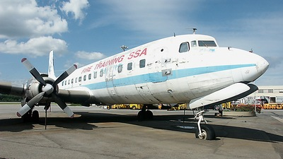 N9498 - Douglas DC-7C Seven Seas - Private