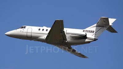 N705BB - British Aerospace BAe 125-800A - Private