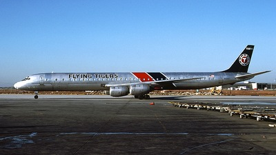 N4865T - Douglas DC-8-73(CF) - Flying Tigers