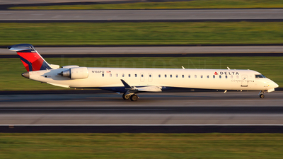 N166PQ - Bombardier CRJ-900LR - Delta Connection (Pinnacle Airlines)
