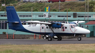 J8-VBS - De Havilland Canada DHC-6-300 Twin Otter - Grenadine Airways
