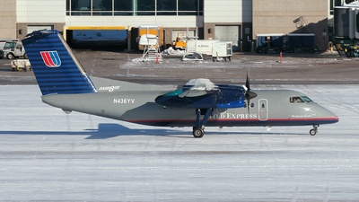 Bombardier Dash 8-Q202 - United Express (Mesa Airlines)