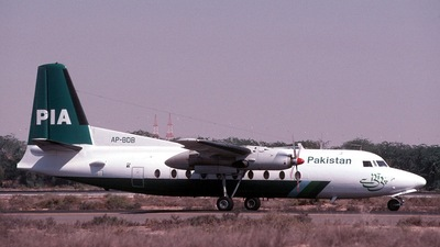 AP-BDP - Fokker F27-500 Friendship - Pakistan International Airlines (PIA)