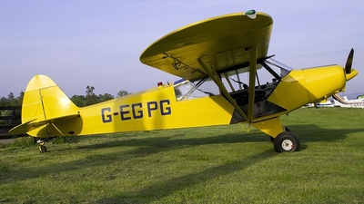 G-EGPG - Piper PA-18-135 Super Cub - Private