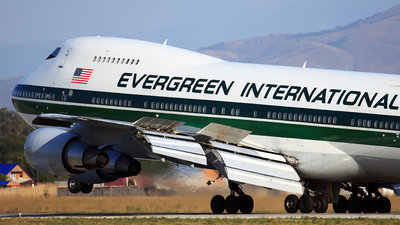 N489EV - Boeing 747-230B(SF) - Evergreen International Airlines