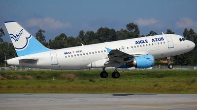 F-HBMI - Airbus A319-114 - Aigle Azur