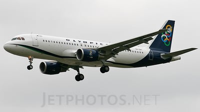 SX-OAT - Airbus A320-214 - Olympic Air
