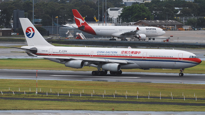 Airbus A340-313X - China Eastern Airlines