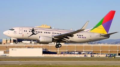 Boeing 737-7EJ(BBJ) - Private