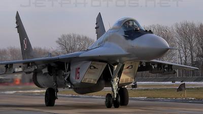 115 - Mikoyan-Gurevich MiG-29 Fulcrum - Poland - Air Force