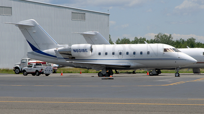 N601BE - Bombardier CL-600-2B16 Challenger 604 - Private