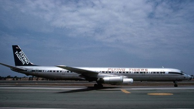 N793FT - Douglas DC-8-63(CF) - Flying Tigers