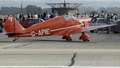 G-APIE - Avions Fairey Tipsy Belfair - Private