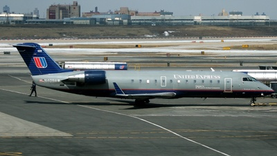 N409AW - Bombardier CRJ-200ER - United Express (Air Wisconsin)