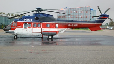 G-TIGF - Aérospatiale AS 332L Super Puma - Bristow Helicopters