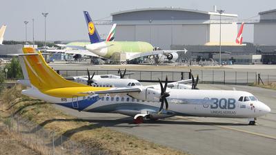 F-WWEQ - ATR 72-212A(500) - BQB L�neas A�reas