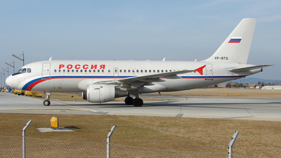 VP-BTQ - Airbus A319-114 - Rossiya Airlines