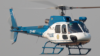 ZS-RWX - Eurocopter AS 350B3 Ecureuil - South Africa - Police