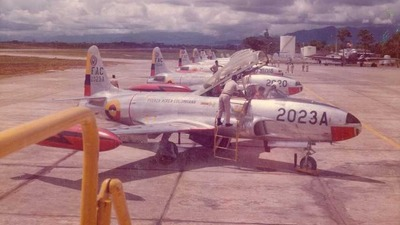 FAC-2023A - Lockheed T-33A Shooting Star - Colombia - Air Force