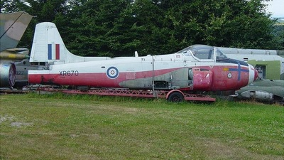 XR670 - Hunting Percival Jet Provost - United Kingdom - Royal Air Force (RAF)