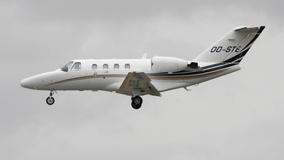 OO-STE - Cessna 525 CitationJet 1 - Private