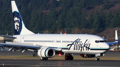 N518AS - Boeing 737-890 - Alaska Airlines