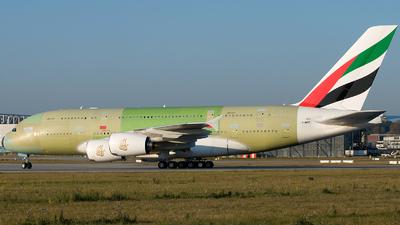 F-WWSZ - Airbus A380-861 - Airbus Industrie