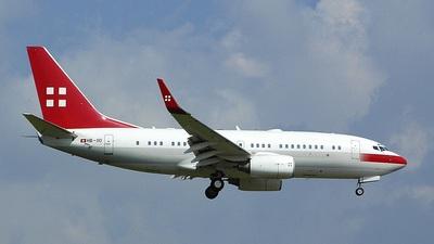 Boeing 737-7AK(BBJ) - PrivatAir