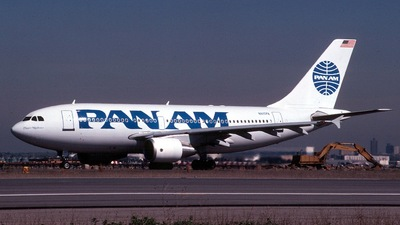 N815PA - Airbus A310-324 - Pan Am
