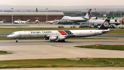 N707FT - Douglas DC-8-73(CF) - Flying Tigers