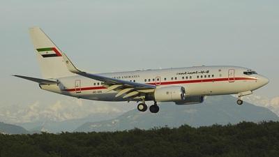 Boeing 737-7Z5(BBJ) - United Arab Emirates - Abu Dhabi Amiri Flight