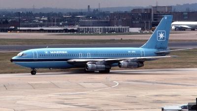 OY-APU - Boeing 720-051B - Maersk Air