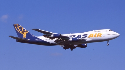 N528MC - Boeing 747-2D7B(SF) - Atlas Air