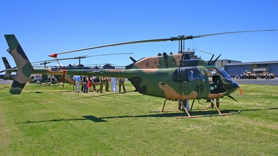 A picture of A17049 - Bell OH58A kiowa -  - © Mike Bridge